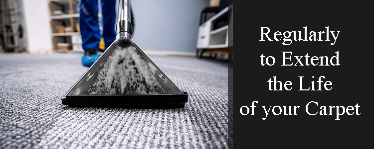 Regularly to Extend the Life of your Carpet